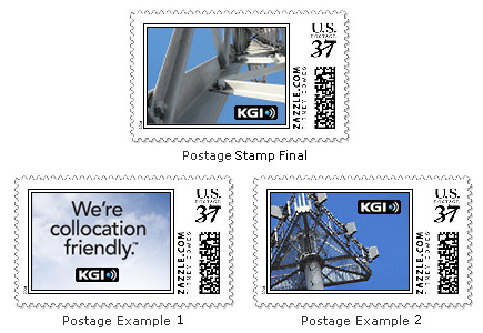 Corporate Postage Stamp for Outgoing Mail